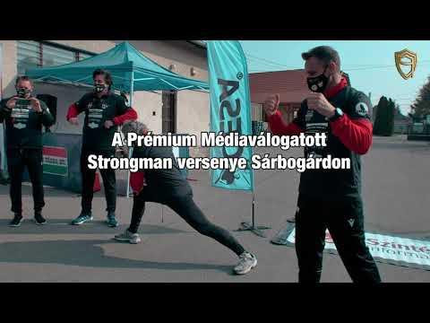 Embedded thumbnail for PRÉMIUM Médiaválogatott Strongman Versenye Sárbogárdon 2021